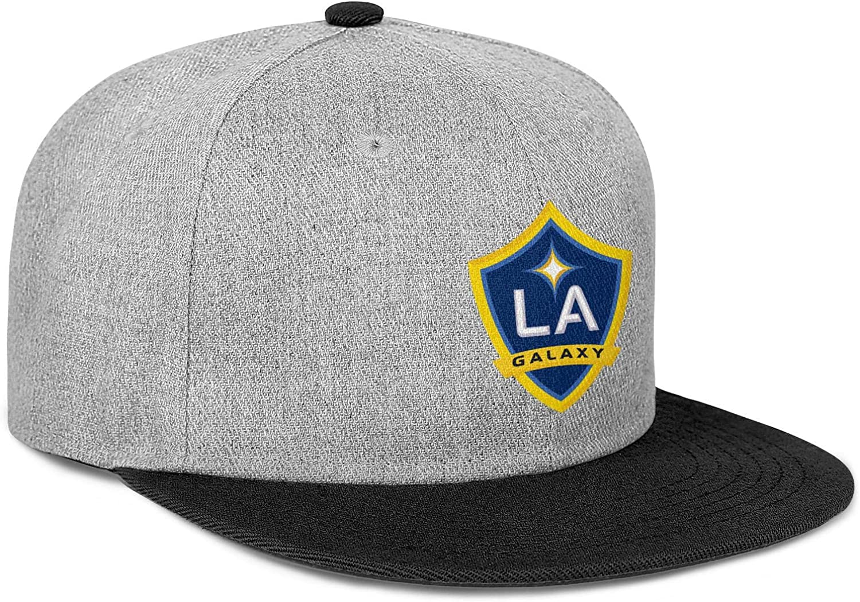 LiJiCai Unisex Los-Funny-Angeles-Galaxy-Logo Fits Cowboy Hat Superlite Baseball Cap Snapback Hat Football Hats