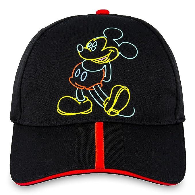 d7f50e1ed61 ... purchase disney baseball cap 80s flashback mickey mouse hat adult black  6d67a 02f4b