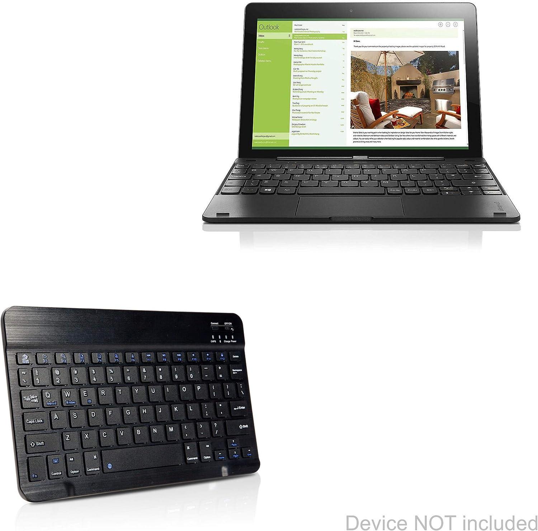 Lenovo Miix 300 Keyboard, BoxWave [SlimKeys Bluetooth Keyboard] Portable Keyboard with Integrated Commands for Lenovo Miix 300 - Jet Black