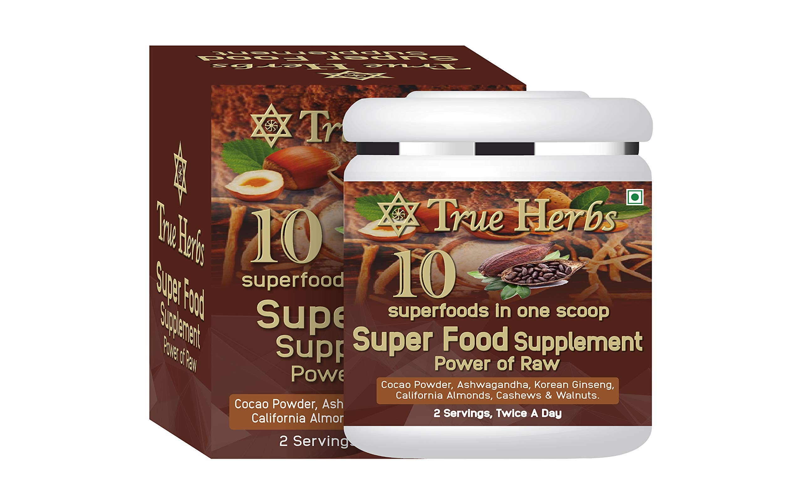 True Herbs Superfood Supplement for immunity booster (300 GM)