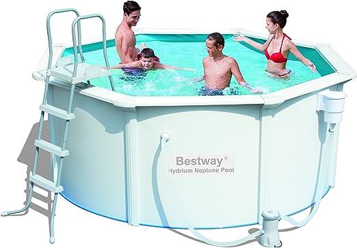 Bestway - Piscina De Chapa Ocean 305 X 122 Cm + Depuradora ...
