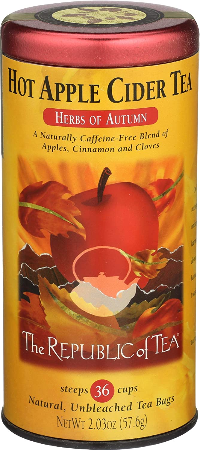 The Republic of Tea, Hot Apple Cider Tea, 36-Count