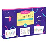 Craft Dreams String Art Kit, String A Name, Includes ABC Templates and Kid Friendly Instructions