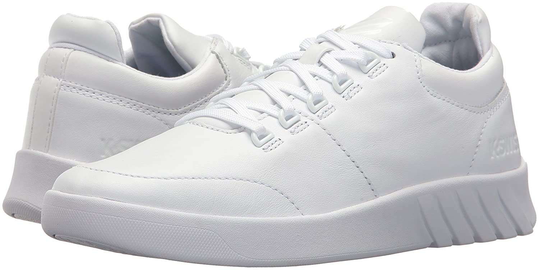 K-Swiss Women's Aero Trainer Sneaker B072FK63N7 8.5 B(M) US White/White