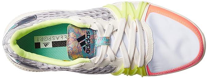adidas AF5908, Chaussures de Sport Femme - Blanc - Blanc/Multicolore, 36 2/3 EU EU