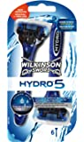 Wilkinson - Hydro 5 - Rasoirs jetables masculins - Pack de 6