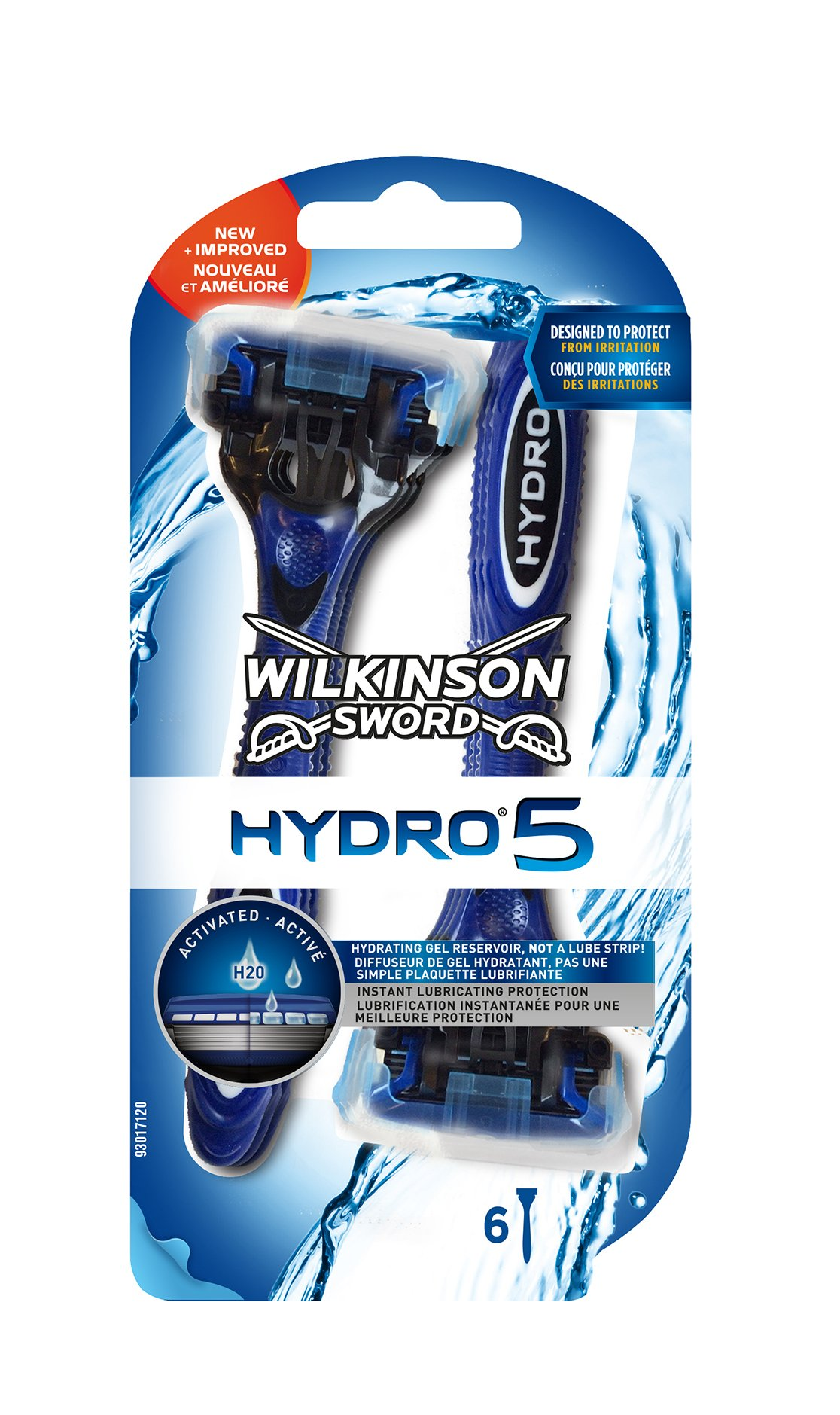 Wilkinson - Hydro 5 - Rasoirs jetables masculins - Pack de 6 product image