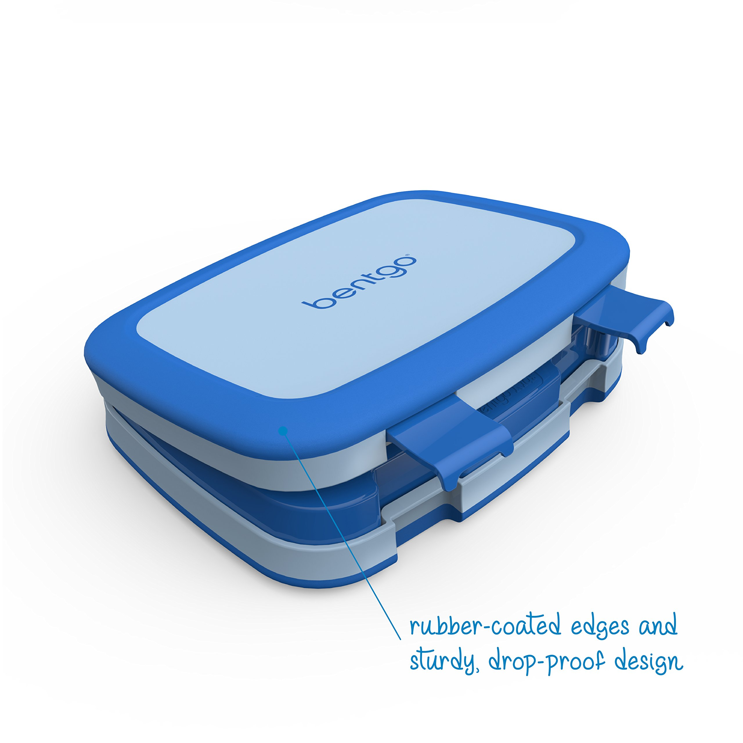 Bentgo Kids Childrens Lunch Box - Bento-Styled Lunch Solution Offers Durable, Leak-Proof, On-the-Go Meal and Snack Packing by Bentgo (Image #3)