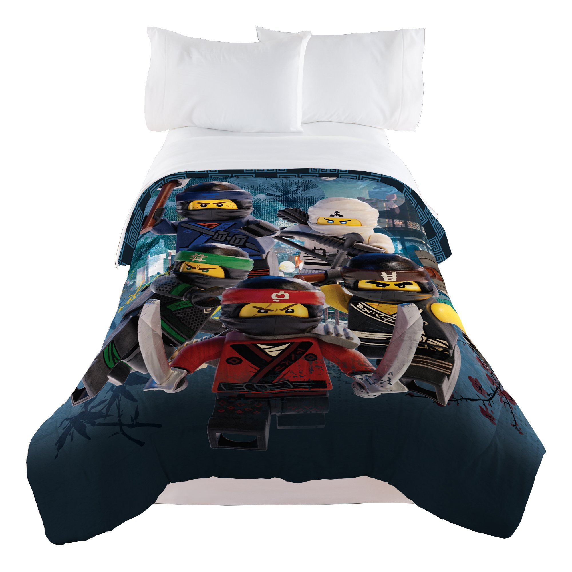LEGO Ninjago Warriors Comforter, Twin/Full