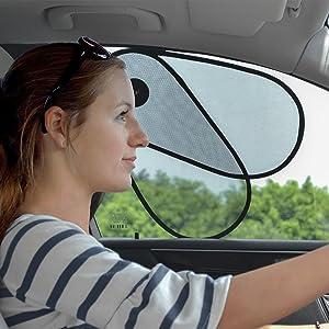 TFY Car Window Sun Shade Protector Shine Blocker