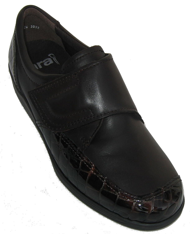 Ara 12-46327 Meran mujer zapato ancho H 38 EU|Negro