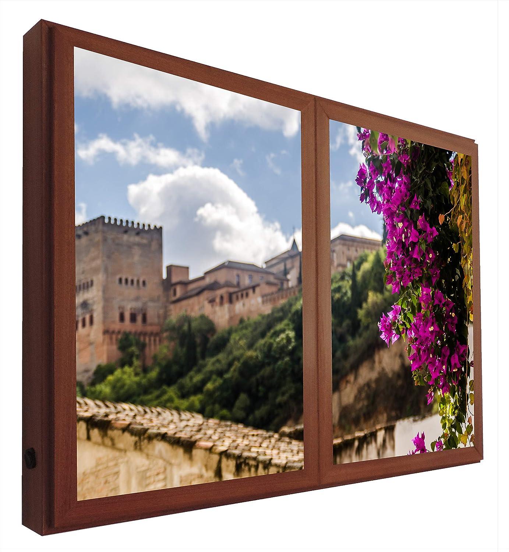 CCRETROILUMINADOS Vistas a la Alhambra Granada Ventanas Falsas ...