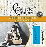CollectorGuitar Westerngitarren-Saiten 16L Acoustic Guitar Strings Phosphor Bronze Light 012-053