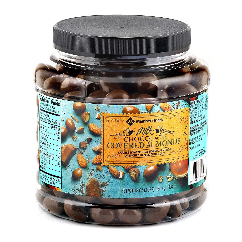 Milk Chocolate Covered Almonds -48 OZ - Members Mark