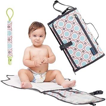 Amazon.com: Cojín cambiador para pañales de bebé con ...