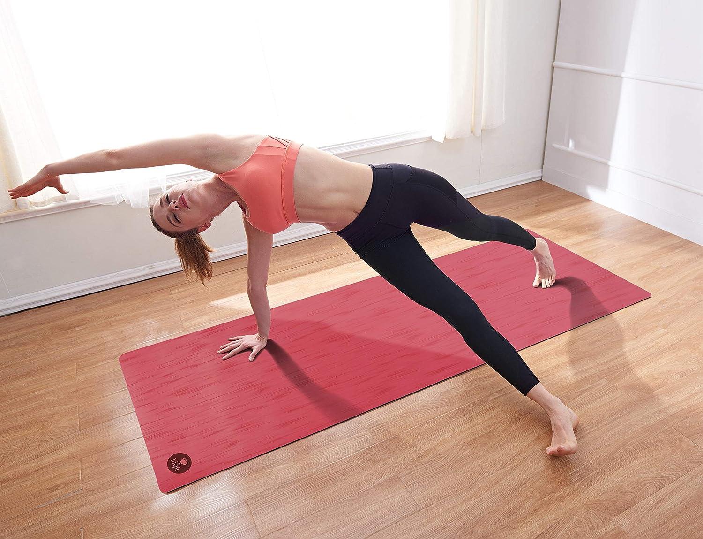 IUGA Pro - Esterilla de Yoga Antideslizante, Rendimiento Antideslizante inmejorable, Respetuoso con el Medio Ambiente y Certificado SGS, sin Olor, ...