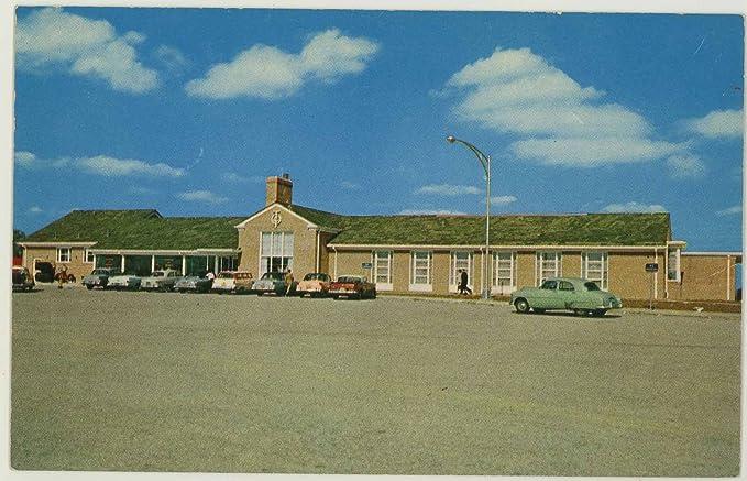 Ohio Turnpike Service Plaza - Vintage 1958 Curt Teich Chrome