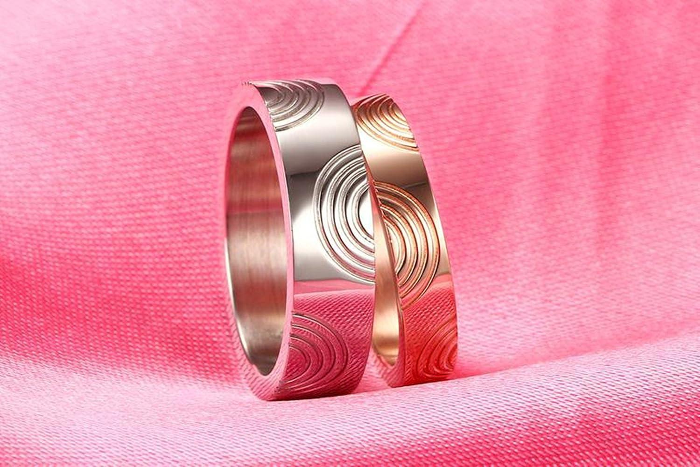 SanJiu Jewelry Couple Ring Wedding Rings Stainless Steel Ring ...
