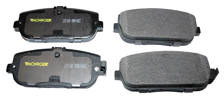 Monroe CX1180 Total Solution Ceramic Brake Pad Monroe Brakes MFCX1180