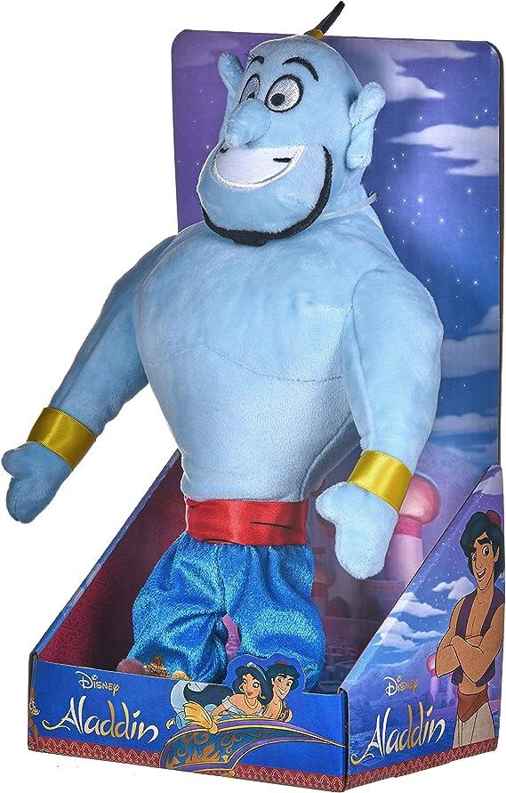 """Disney Aladdins The Genie 10/"""" 25cm Super Soft Velboa Plush Toy in Gift Box"""