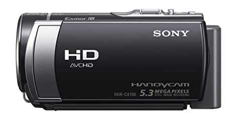 buy sony hdr cx190 camcorder with 40x optical zoom black online at rh amazon in Camara Sony HDR-CX190 Amazon Sony HDR CX190