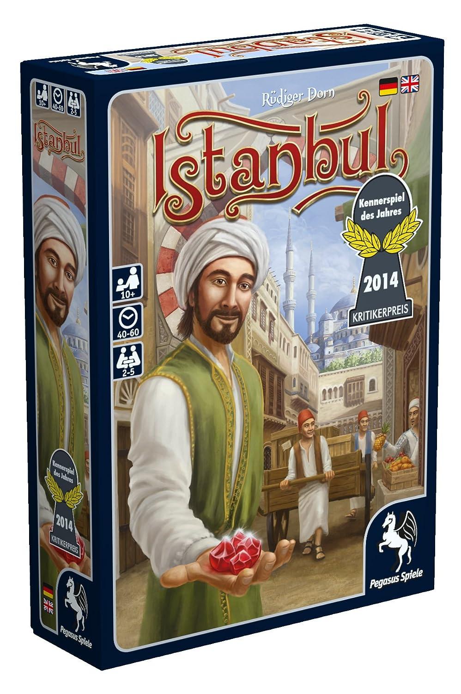 Pegasus Spiele 55115G - Istanbul Kennerspiel