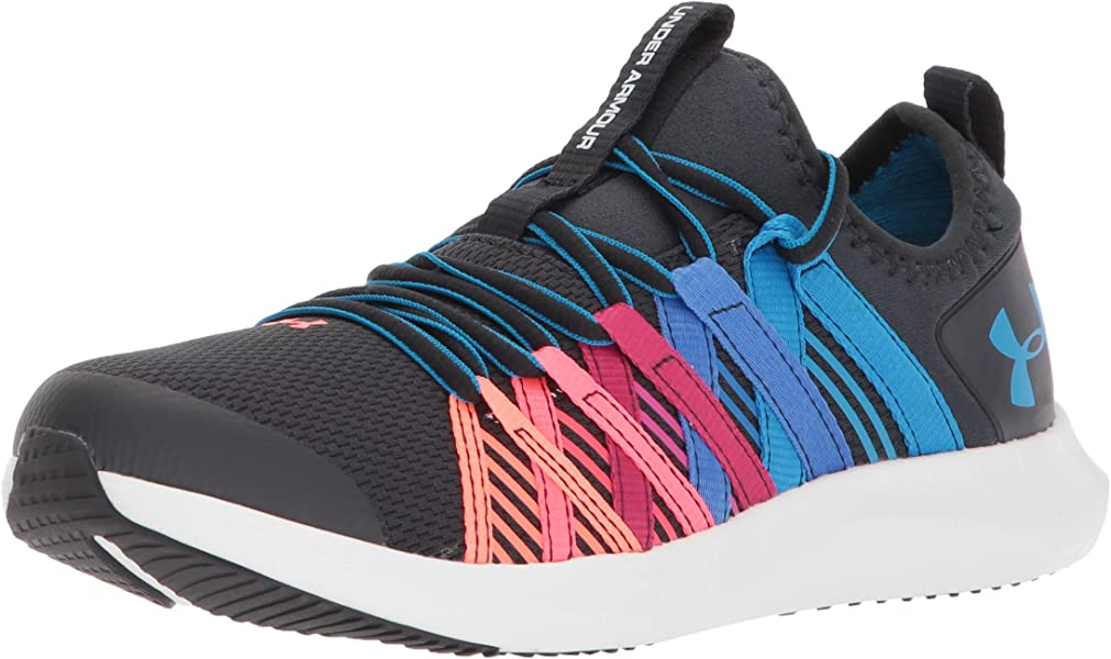super popular 4d79b 03288 Under Armour Girls  Grade School Infinity Sneaker, Anthracite (101) Capri,.  Back. Double-tap to zoom