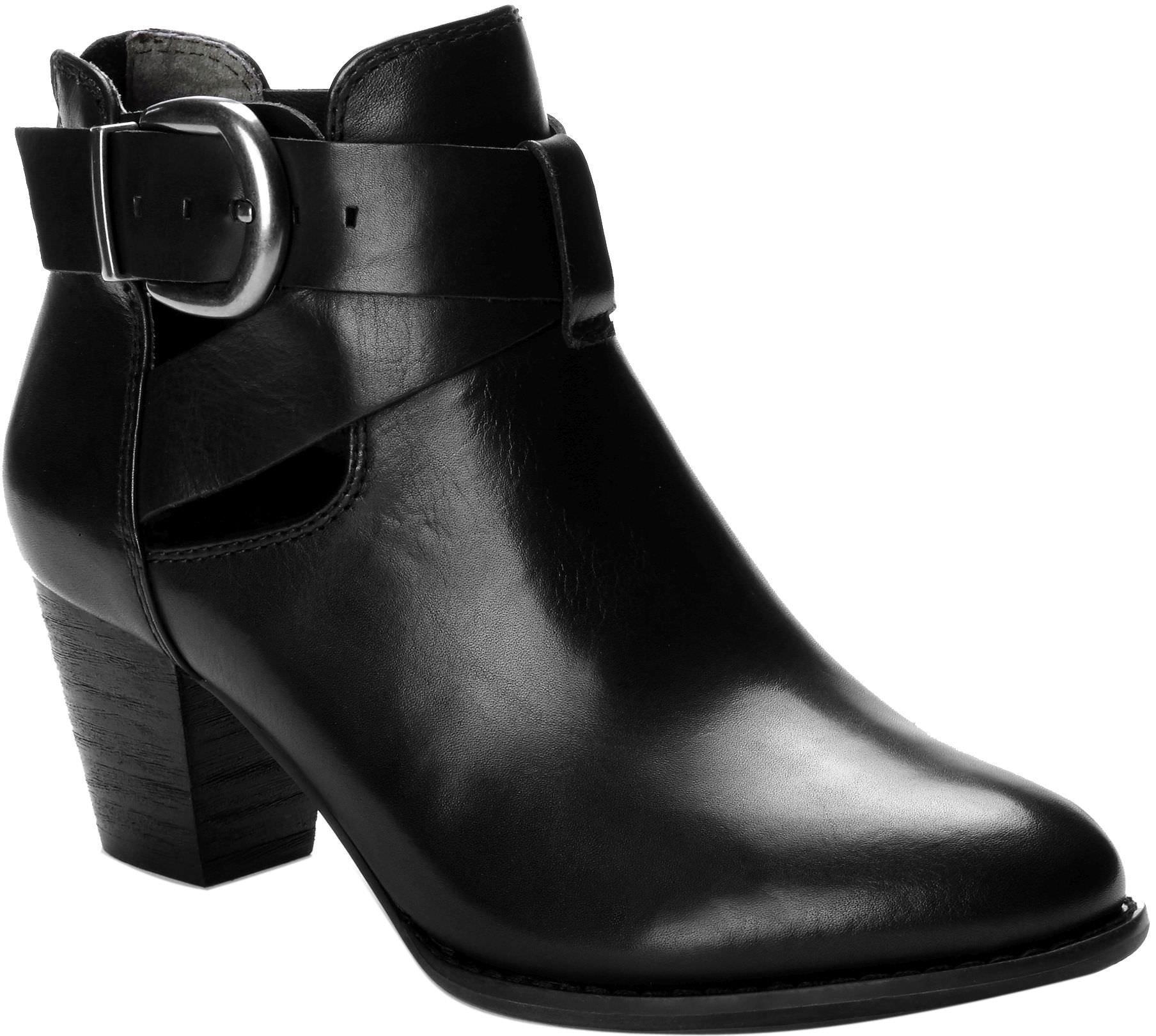 Vionic Upright Rory - Womens Heeled Boot Black - 9 Medium