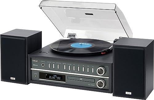 Teac MCD800B 20-watt Turntable System with AM/FM/CD/Wireless Technology