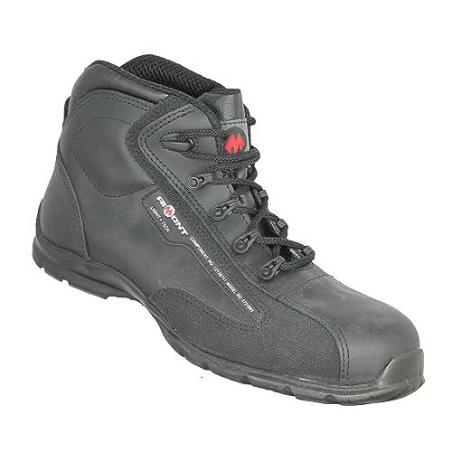 JALLATTE Echo S3 SRC – Calzado de Seguridad Bauschuhe Alto Negro B-Ware, Color