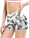 """BUBBLELIME 2.5"""" Inseam Out Pocket Yoga Shorts Running Shorts Active"""