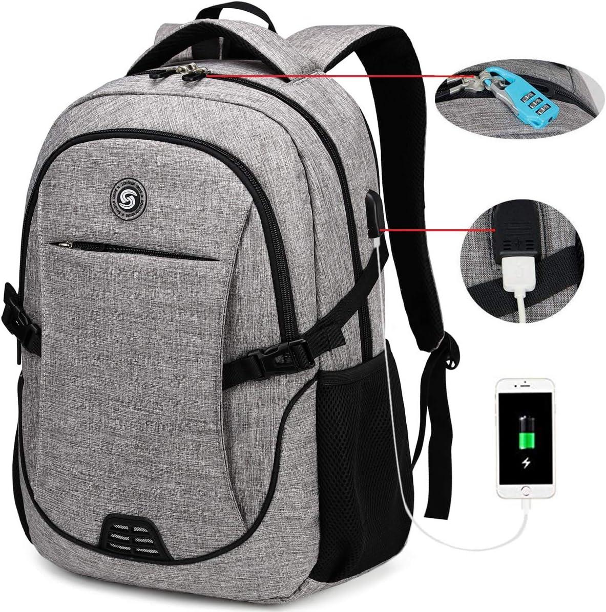 SOLDIERKNIFE Durable Waterproof Anti Theft Laptop Backpack
