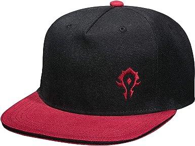 Warcraft World of Snapback Cap Horde 15th Anniversary Black