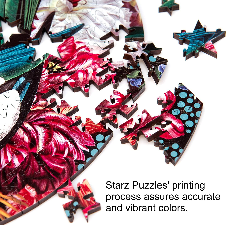 Starz Wooden Jigsaw Puzzle Artist Aberrant Art Dinner Music