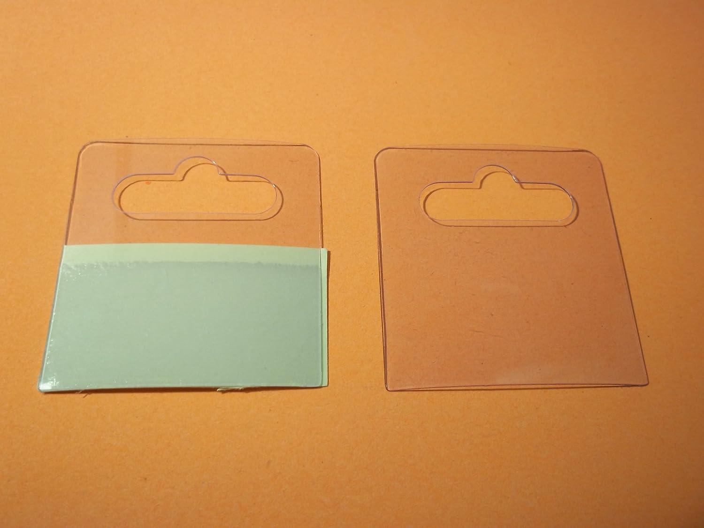 Hang Tabs- PVC- H50 x W45 Hanging 100 x Eurohook Slot Ultra Strong Self Adhesive