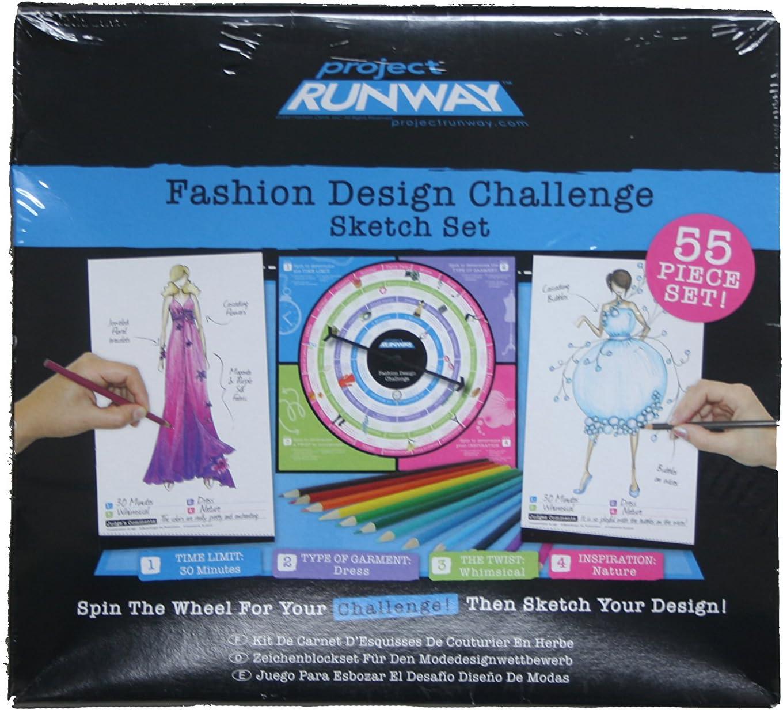 Amazon Com Project Runway Design Challenge Sketch Set Toys Games