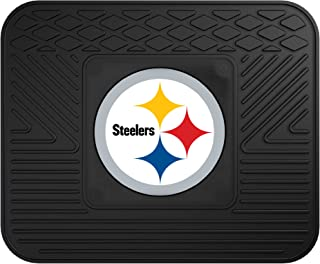 """product image for FANMATS 9998 NFL Pittsburgh Steelers Vinyl Utility Mat,Black,14""""x17"""""""
