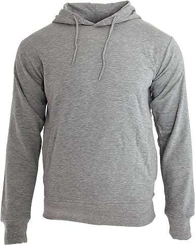 Nakedshirt Mens Hooded Cotton Blend Sweatshirt