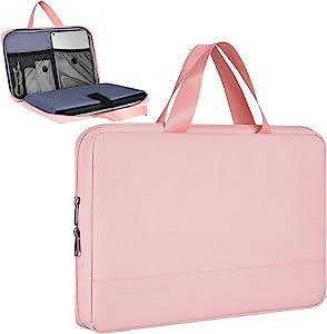 11.6-13 Inch Laptop Case Bag for Acer Chromebook Spin 311,HP Chromebook 11/Stream 11, Asus Chromebook 11/Vivobook 11.6, Dell Chromebook 11, Lenovo Chromebook C340(Pink)