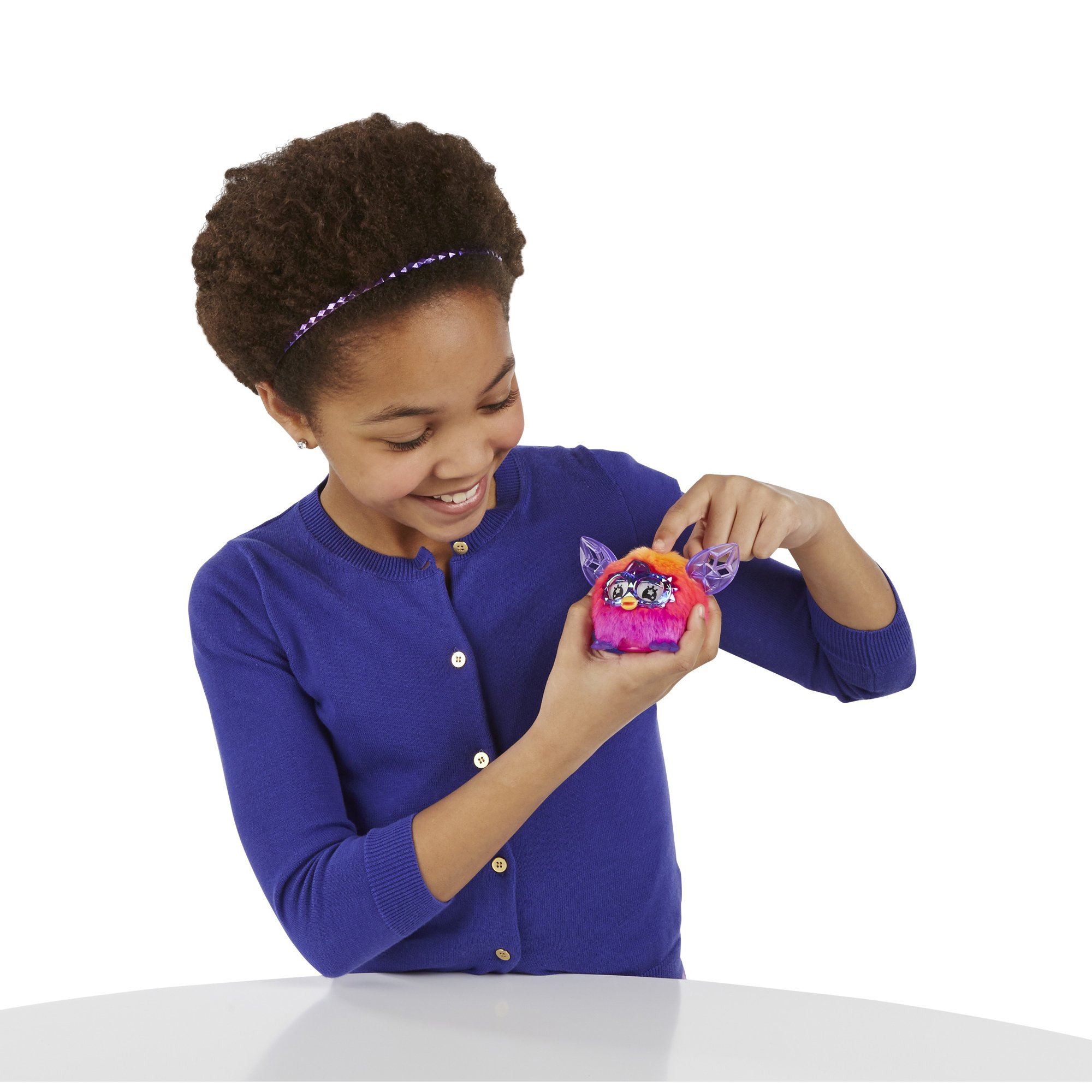 Furby Furblings Creature Plush, Orange/Pink by Furby (Image #4)
