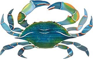 product image for Next Innovations WA3DMEBLUECRAB CB Crab Refraxions 3D Wall Art, Eastern Blue