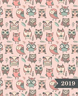 2019: Planner - 12 Months - 1 Day per Page - January 2019 to ...