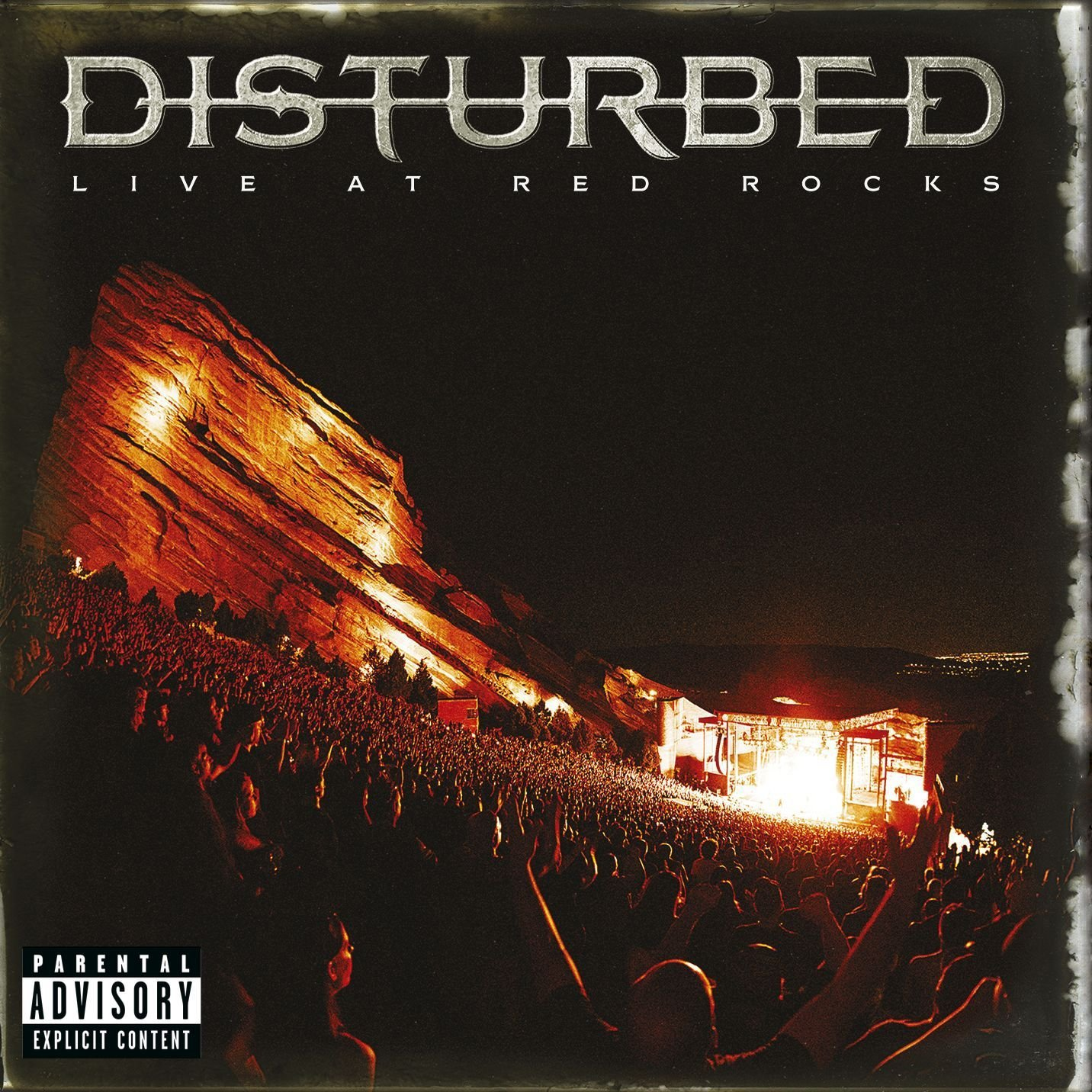 CD : Disturbed - Disturbed - Live At Red Rocks [Explicit Content] (CD)
