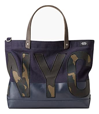 20314cf98 Image Unavailable. Image not available for. Color: Jack Spade NYC Camo Dipped  Canvas Coal Bag Tote ...