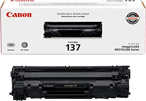 Canon 2X 137 Full Yield Cartridge for MF212w, MF216n, MF227dw, MF229dw Laser Printers