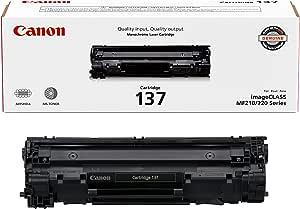 Canon Genuine Toner Cartridge 137 Black (9435B001), 1-Pack, for Canon imageCLASS MF212w, MF216n, MF217w, MF244dw, MF247dw, MF249dw, MF227dw, MF229dw, MF232w, MF236n, LBP151dw, D570 Laser Printers