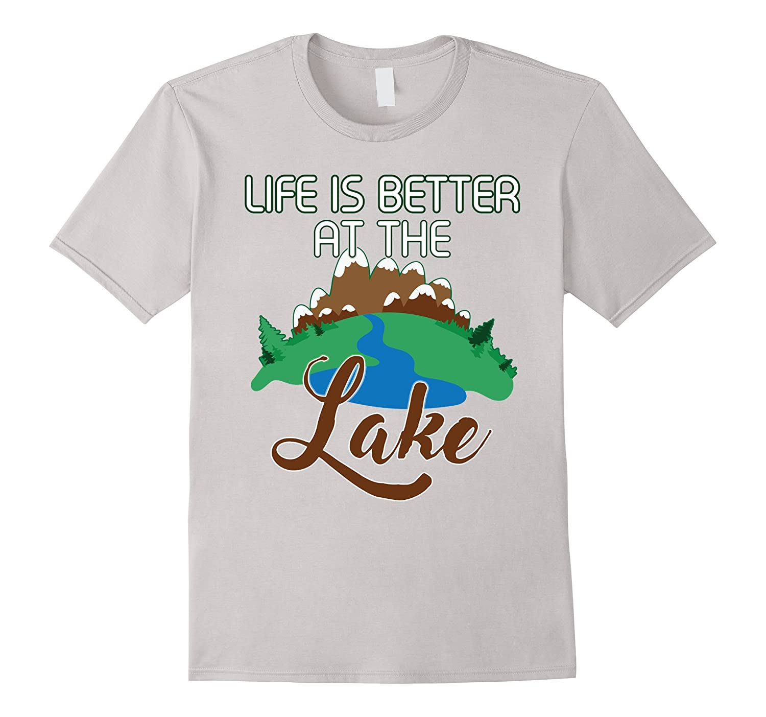 Life Is Better At The Lake Shirt Ocean Sea Water Boater Gift