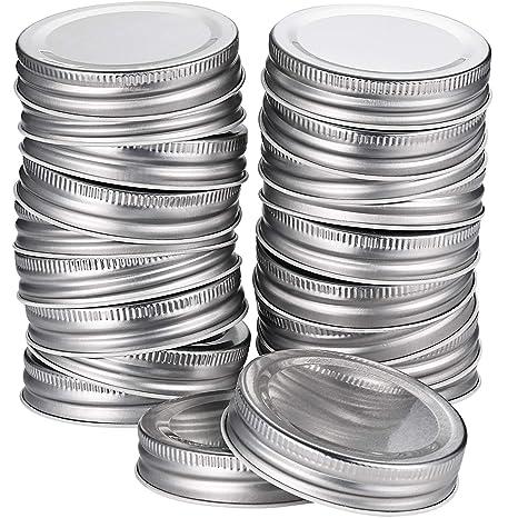 Amazon.com: Pangda - Lote de 24 tapas para tarros de masón ...