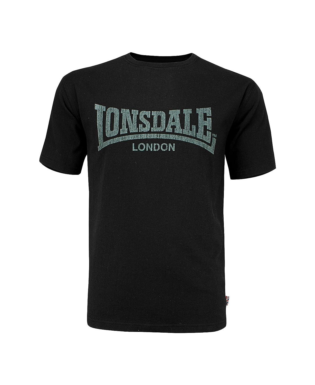 Lonsdale London Hombres Ropa Superior/Camiseta Logo Kai