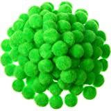 Shappy 500 Pieces 1 Inch Craft Pom Pom Balls for DIY Creative Crafts Decorations Kids Craft Project Home Party Holiday…